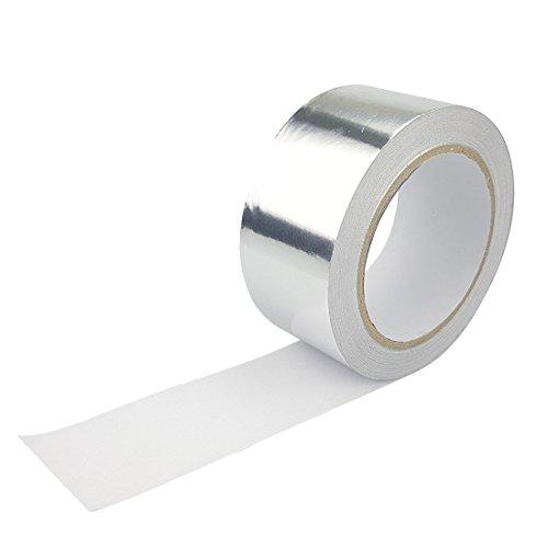 Skycabin Aluminiumband Aluminium Klebeband Aluminiumklebebänder selbstklebend 50 mm x 25 m