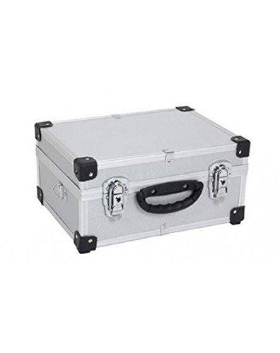 Varo PRM10106S - Valigetta in alluminio, colore: Argento