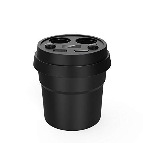 Zigarettenlichtadapter Socket Splitter Car Charger 12-24V Mit Volmeter-Strom Display 2 Port 120W 5V 3.1A Dual USB 12-volt-splitter