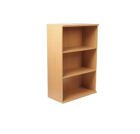 Newbury 25 Three Shelf Open Bookcase 1810/25 in Oak