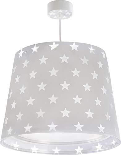 Dalber Stars Hängelampe, Plastik, E27, Grey, 33 x 33 x 25 cm
