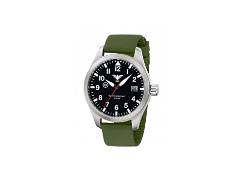 KHS Mens Watch Airleader Steel KHS.AIRS.SO
