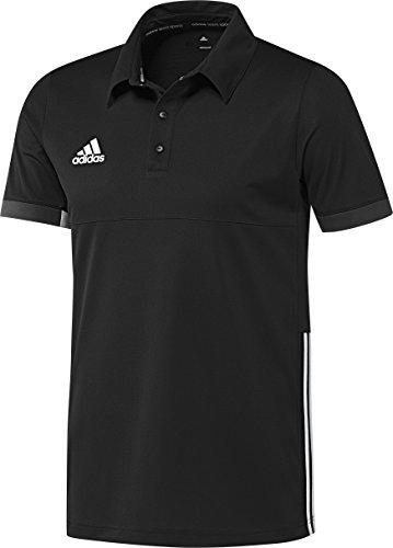 adidas Herren Polo Hemd T16 Team Schwarz/Weiß