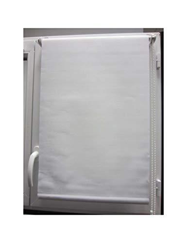 Tenda a rullo filtrante (45 x h180 cm) tinta unita bianco