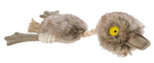 HUNTER BATTY BIRDS DUCK Hundespielzeug, mit Baumwolle, Tau, zahnpflegend, Ente, 45 - Bewegliches Hundespielzeug