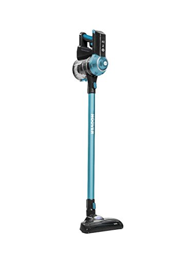 Hoover FD22BCPET Freedom Pets Lithium 2 in 1 Cordless Stick Vacuum Cleaner, 0.7 Litre, Black/Turquoise