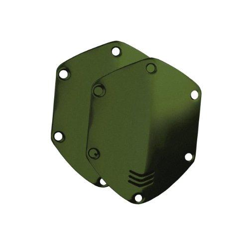 V-MODA Metall-Abdeckungen für Crossfade On-Ear-Kopfhörer - Matte Green (Vmoda Custom)