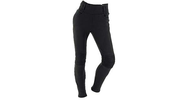 : Richa Noir Kodi Legging pour femme Pantalon de moto