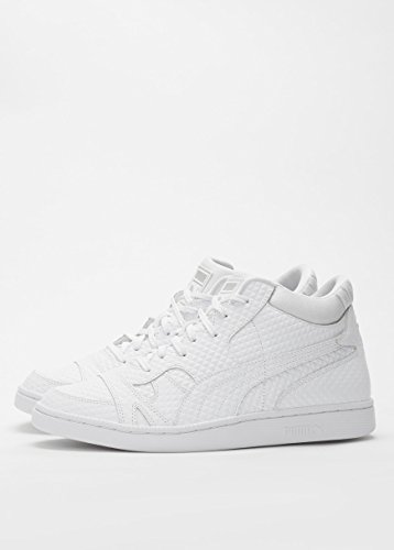 Puma Becker Embossed Homme Baskets / Sneakers, blanc white