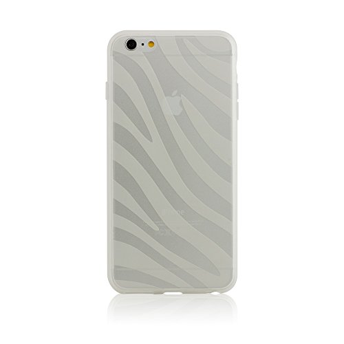 BlingMyThing Ayano Expression Collection Zebra Schutzhülle für Apple iPhone 6 Plus transparent Zebra Bling