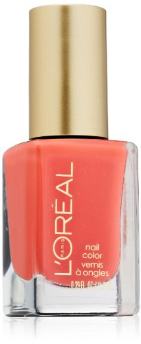 L\'Oreal Paris Color Riche Nail Varnish, 400 Tangerine Crush, 11.7ml