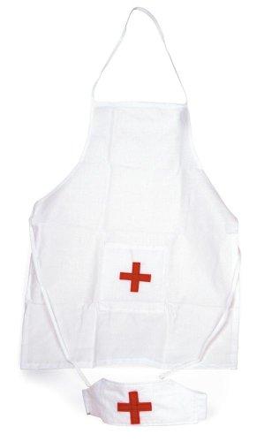 chwester-Schürze und -Mütze/Hut (Krankenschwester Kostüm Kind)