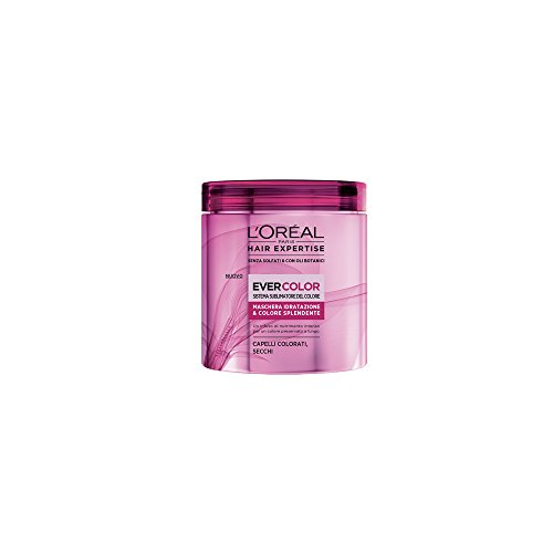 L'Oréal Paris Hair Expertise Ever Color Maschera Idratazione per Capelli Colorati Secchi, 200 ml