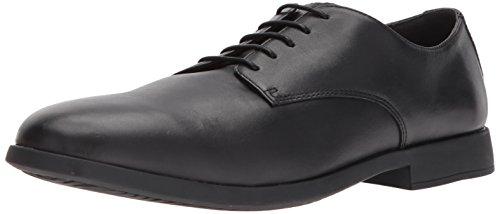 Camper Truman, Zapatos Cordones Derby Hombre, Schwarz