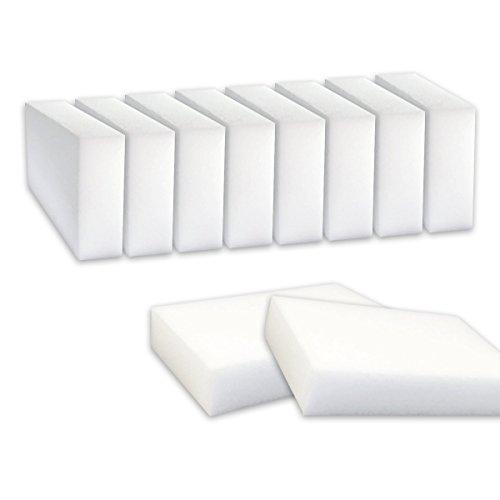 nidebeibao® Magic Reinigungsschwamm für Chemikalien Fleck und Mark Entnahme, 10 Stück