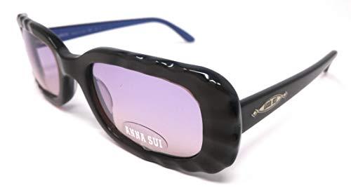 Anna Sui Damen Sonnenbrille Marrone E Blu 48