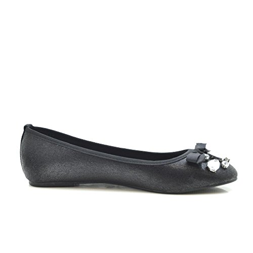 Tino Gonzalez Tgmywt43-10, Ballerines Femme Noir Noir Noir
