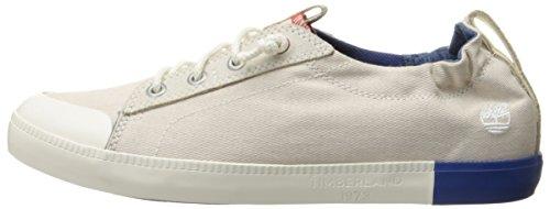 Timberland Newport Bay newport Bay Canvas Plain  Women   s Low-Top Sneakers  Beige - Beige  Birch   4 UK