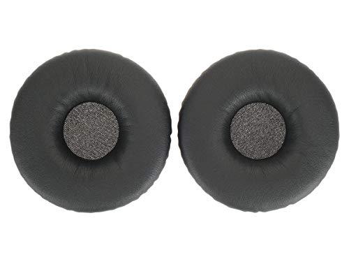 WEWOM 2 Cuscinetti di ricambio per auricolari Sony MDR XB450 XB650BT, neri