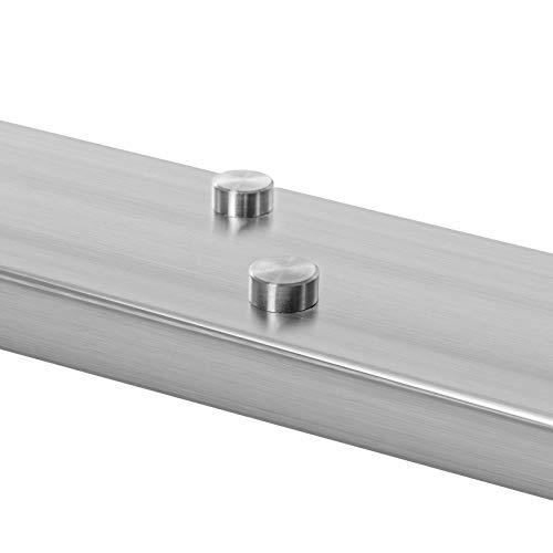 Schrauben Abdeckkappe Ø16x7mm in 2 Oberflächen wählbar Chrom & Edelstahl (Chrom) -