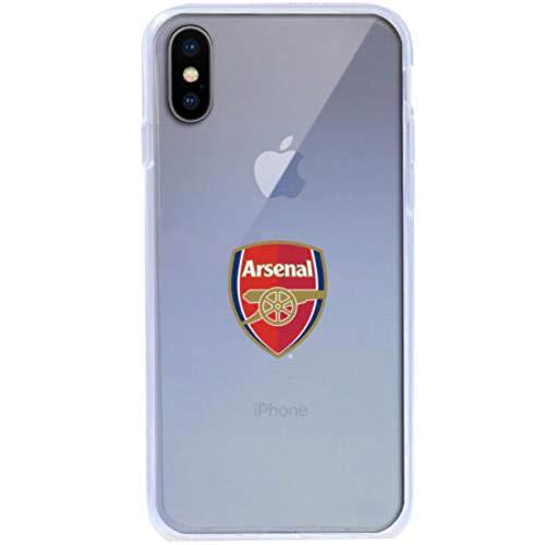 InToro FC Arsenal-TPU Case für Apple iPhone X I Ultra Slim Bumper Cover I Kratzfest Smartphone Schutz -