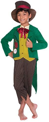 Kostüm Dickensian Boy - Fancy Me Jungen Viktorianischer Dickensian Boy Charles Dickens Historisches Weltbuch Tag Karneval Kostüm Outfit 4-12 Jahre