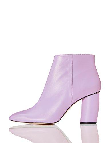 Find stivaletti alla caviglia in pelle donna, viola (lilac), 39 eu