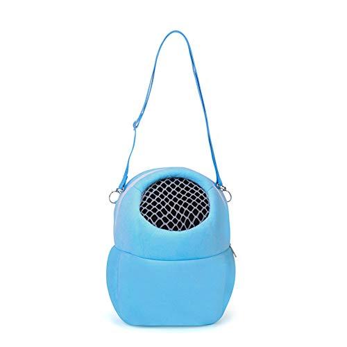 quanjucheer Hamster-Reisetasche, Tragbare Tasche für Kleine Haustiere, atmungsaktiv, Netztasche für den Außenbereich (Tasche Hamster)