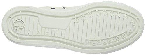 G-Star FALTON WMN TWILL, Sneakers Basses femme Blanc - Weiß (bright white 1322)