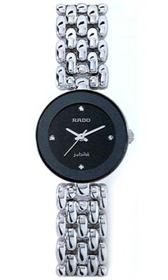 Rado Florence Diamonds Damen-Armbanduhr Diamant 23mm Batterie Analog R48744723 (Batterie Rado-uhr)