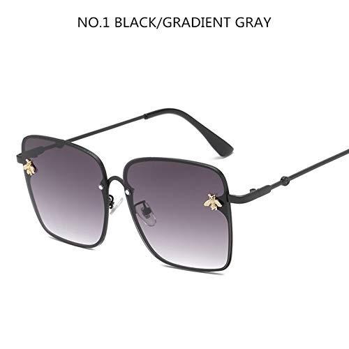 CCGSDJ Übergroßen Quadrat Sonnenbrille Männer Frauen Promi Sonnenbrille Männliche Fahren Superstar Luxury Weibliche Shades