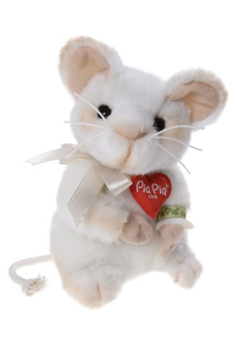Pia Pia Club 17031 13 cm Bauer Forest Animals Sitting Mouse Plush Toy