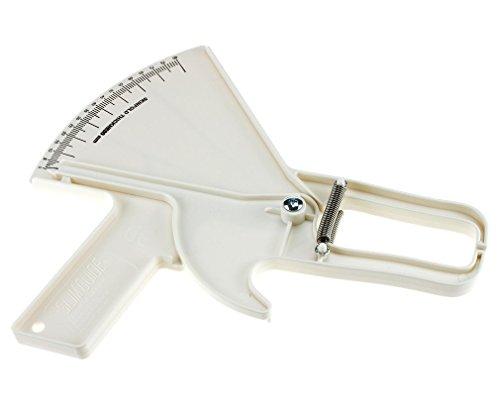 Skinfold, inklusive Tester Messung Slim Guide Maßnahme Körperfett 0- 80 mm