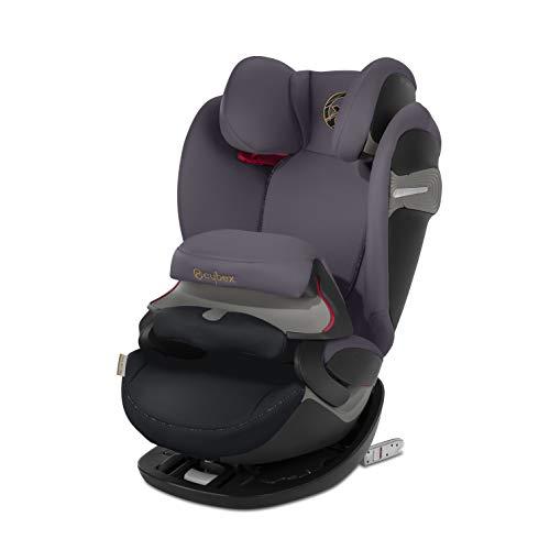 Cybex Gold 2-in-1 Kinder-Autositz Pallas S-Fix, Für Autos mit und ohne ISOFIX, Gruppe 1/2/3 (9-36 kg), Ab ca. 9 Monate bis ca. 12 Jahre, Premium Black