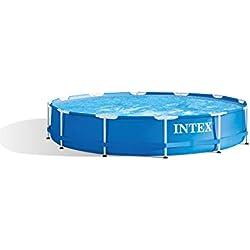 Intex 28212GN Piscine hors-sol cadre métal avec épurateur 366 x 76 cm
