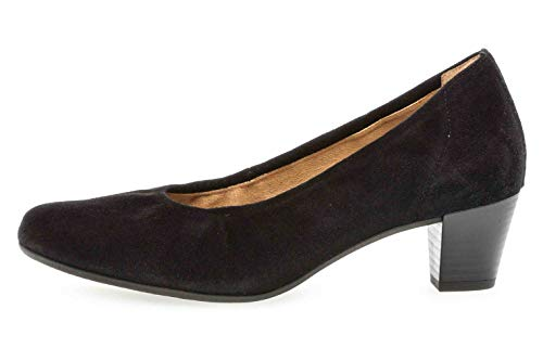 Gabor Comfort Basic 26.180.47 - Scarpe da Donna con Tacco Altissimo, Colore: Nero, Nero (Nero), 44.5 EU Weit