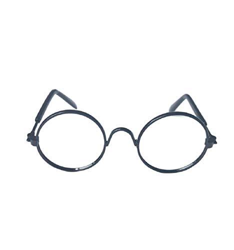 Vaycally Haustier Sonnenbrille Modische Lustige Kreative Kunststoff Haustier Hunde Katzen Brillen Brillen UV-Schutz Haustier Coole Brillen Haustier Fotos Requisiten, Schwarz