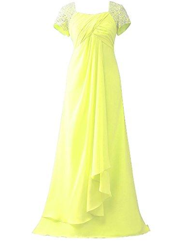 HUINI -  Vestito  - Donna Yellow