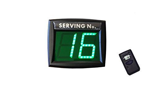 Impretech International Group Eliminacode verde con telecomando LCD