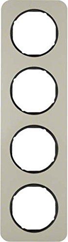 Hager 10142104 interruptor de luz Acero inoxidable - Interruptores de luz (Acero...