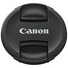 Canon E-77 II - Tapa de objetivo para Objetivo Canon EF y EF-S con diámetro de 77 mm, negro