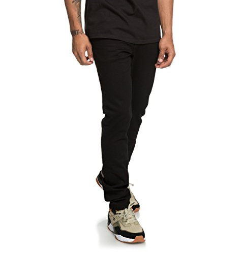 DC Shoes Worker Black - Slim Fit Jeans for Men - Jeans mit Slim Fit - Männer - Dc Herren Jeans