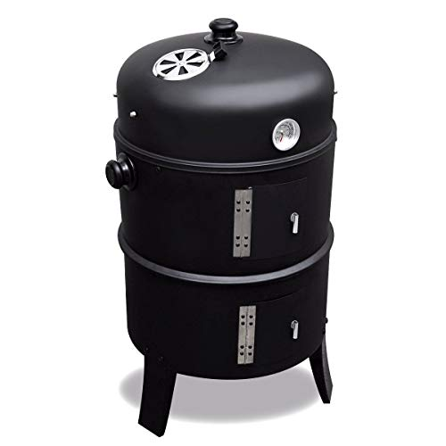 2L Home & Garden Barbecue Barbecue Affumicatore Smoker - 3 in 1