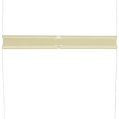 Plissee Rollo Sonnen- und Sichtschutz Klemmfix, ohne Bohren Breite 70 cm Höhe 130 cm in Gelb - 4