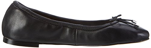 Buffalo 216-6219 Nappa Leather, Ballerines Femme Noir (Black 01)