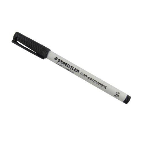 Preisvergleich Produktbild STAEDTLER Lumocolor NonPermanent-Marker 311S, schwarz VE=1