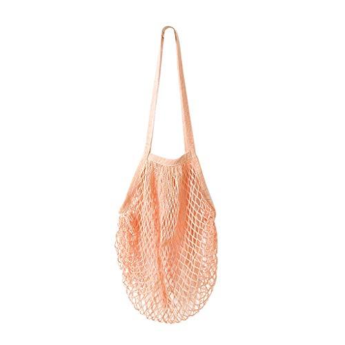 uli® Wiederverwendbare Lebensmittelgeschäft Käufer Baumwolltaschen-Ineinander greifen gesponnene Küche Einkaufskörbe Taschen Einkaufstaschen ()