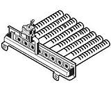 Hayward HAXBMA1403 NA Deckel 400 Verteilerbrenner Ersatz H-Serie Millivolt Elektro-Poolheizung ED1 Style