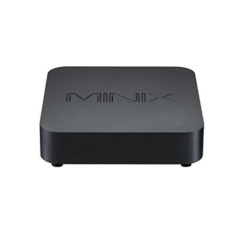 MINIX NEO N42C-4, Intel Pentium Mini PC con Windows 10 Pro (64-bit) [4GB/32GB/Ampliable/Dual-Band Wi-Fi/Gigabit Ethernet/4K @ 60Hz/Triple Display/USB-C]. Directamente por MINIX Technology Limited.