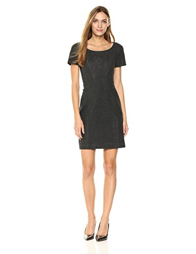 T Tahari Women's Ponte Pepita Dress